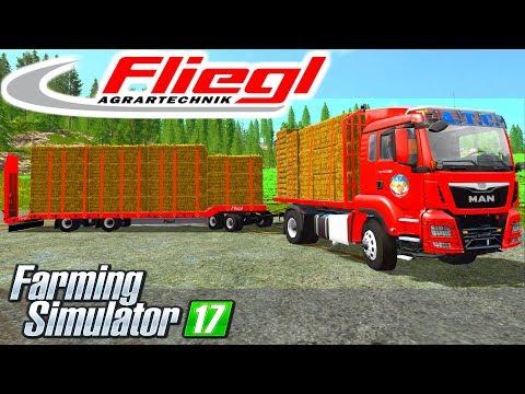 Fliegl 4Achs Tieflader Final v2.0