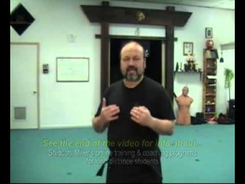 Ninpo Taijutsu – Using the Ninja's Sanden Kamae Principle for Real Self-Defense (Part 1)