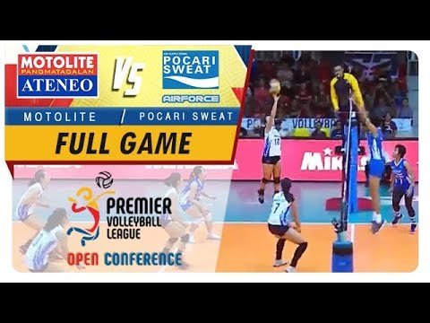 PVL OC 2018: Ateneo-Motolite vs. Pocari-Air Force   Full Game   1st Set   September 23, 2018