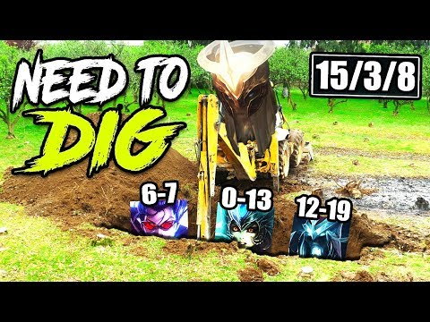 Need to DIG to find my teammates!! Impossible Yorick CARRY! TOP Yorick vs Jayce Season 9 Gameplay