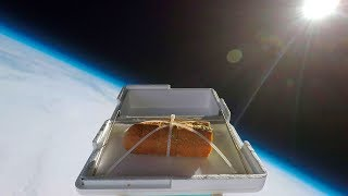 Video We Sent Garlic Bread to the Edge of Space, Then Ate It MP3, 3GP, MP4, WEBM, AVI, FLV April 2018