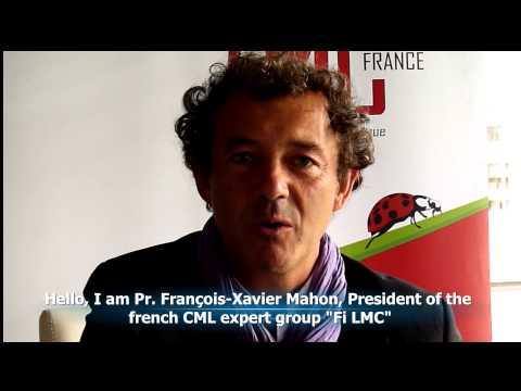22/9 – WORLD CML DAY – Pr. FRANCOIS-XAVIER MAHON – FRANCE