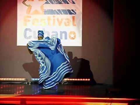 Festival Cubano 2012 Bielsko Biala --Yeni Molinet --Yemaya (видео)
