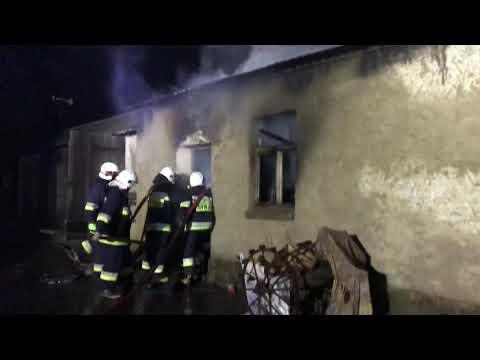 Wideo1: Pożar w Żakowie