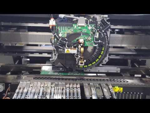 Universal Instruments SMT Line at Patton Electronics