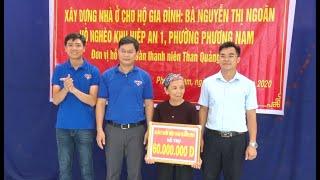 Phường Phương Nam khởi công xây nhà cho hộ nghèo