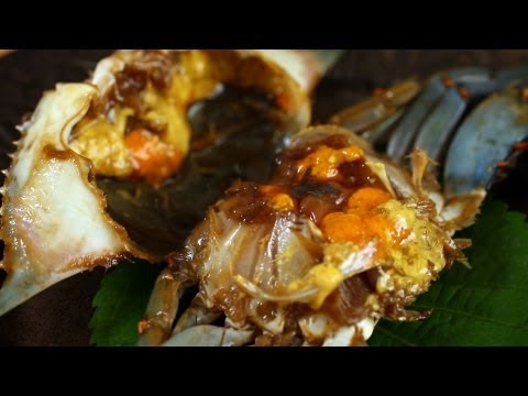 Korean Recipe: How to Make Marinated Fresh Crabs in Soy Sauce – Ganjang Gejang – 간장게장