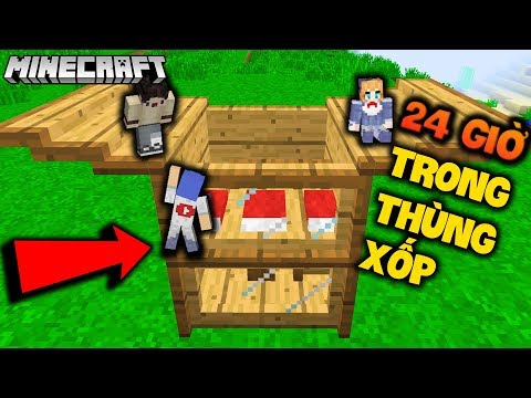 MINECRAFT 24 GIỜ SỐNG TRONG THÙNG XỐP 2 TẦNG - GUMBALL LUCY NOOB - OOPS GUMBALL MINECRAFT - Thời lượng: 18:22.