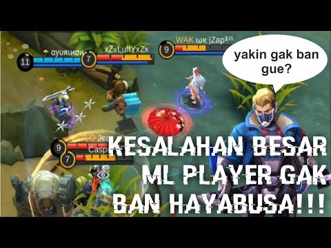 YAKIN GAK BAN HAYA? (αуυяιиσи TOP GLOBAL HAYABUSA GAMEPLAY)