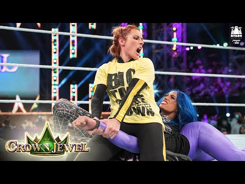 Belair shows off power against Lynch and Banks: WWE Crown Jewel 2021 (WWE Network Exclusive)