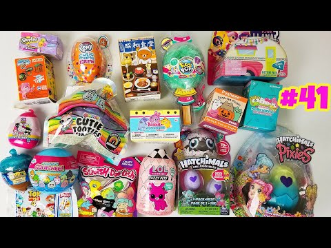 BLIND BAG UNBOXING OPENING RANDOM SURPRISE TOYS UNBOXING TOYS #41