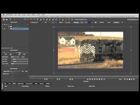 Mocha 基礎教學 - 12 - Pan Tilt Zoom 攝影機路徑反求