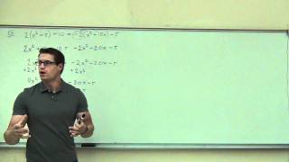 Intermediate Algebra Lecture C.1 Part 8