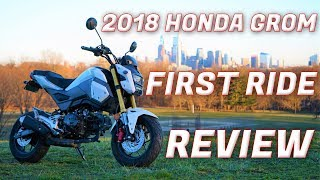 9. Honda Grom First Ride / Review