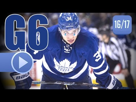 Washington Capitals vs Toronto Maple Leafs. 2017 NHL Playoffs. Round 1. Game 6. 04.23.2017 (HD)