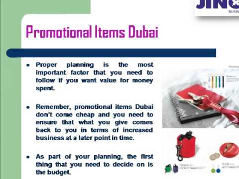 Jinou Trading LLC Present Best Promotional Gifts Company Dubai