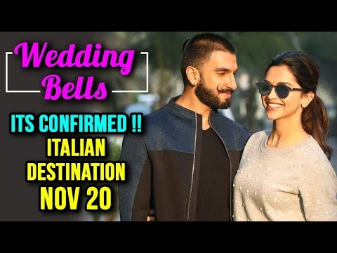 Deepika Padukone Ranveer Singh MARRIAGE, Confirms