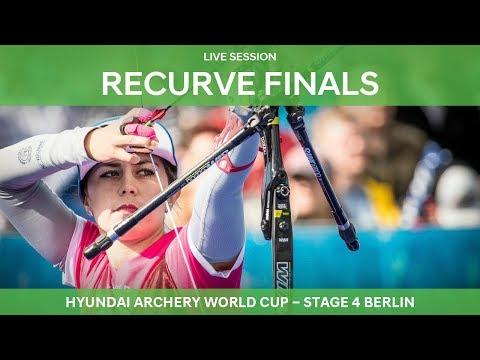 Live Session: Recurve Finals   Berlin 2018 Hyundai Archery World Cup S4 (видео)