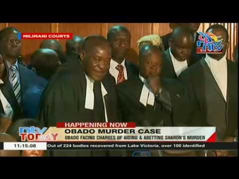 Okoth Obado's date with destiny: Obado remanded at Industrial area prison.
