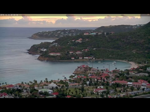 Live-Cam: Französisches Überseegebiet - Saint-Barthélemy (Insel) - Baie de St-Jean