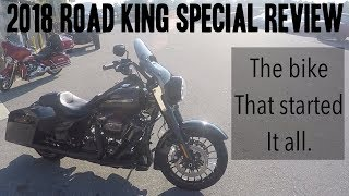 8. 2018 Road King Special Detailed review!