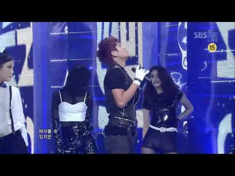SE7EN [SOMEBODY ELSE]  @SBS Inkigayo 인기가요 20120311