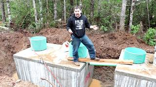 Install your own septic system #2 How to install your own septic systemDaniel WoodellHow to install your own septic system!During construction of my brother's new house we decided to install his septic system.  This video shows the process it takes and how to go about doing it yourself to save a lot of money.  It shows you what you need and the time it takes.  This is a pump to pressure distribution system this series of videos will shows how to install that type of system yourself.