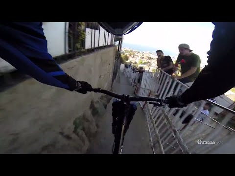 Insane Urban Downhill Mountain Bike
