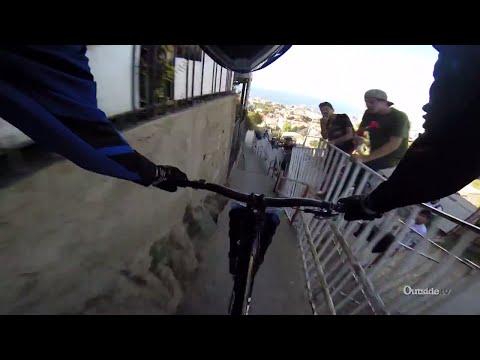 Insane Urban Downhill Mountain Bike