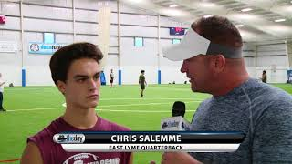 East Lyme QB Chris Salemme