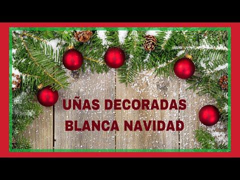 Uñas decoradas - UÑAS DECORADAS PARA NAVIDAD /UÑAS NATURALES/CHRISTMAS NAILS