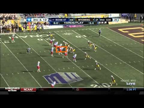 Demarcus Lawrence vs Wyoming 2012 video.