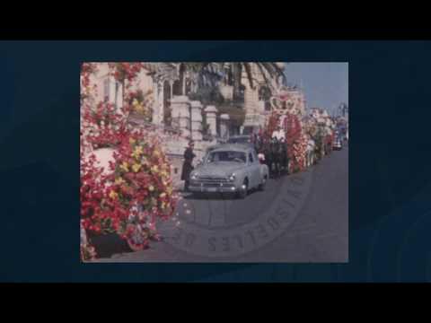 """Instantané """"Monaco en films"""" : """"Bataille de fleurs 1956"""""""