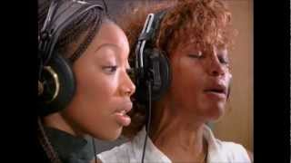 Whitney & Brandy Behind The Scenes - YouTube