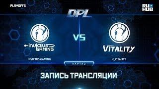 Invictus Gaming vs IG,Vitality, DPL 2018, game 2 [Adekvat, Smile]