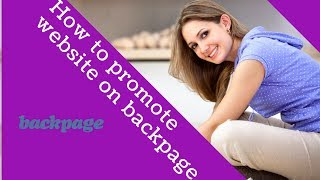 How to promote website on backpage