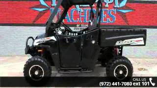 10. 2013 Polaris Ranger 800 EFI Black and White Lightning LE ...