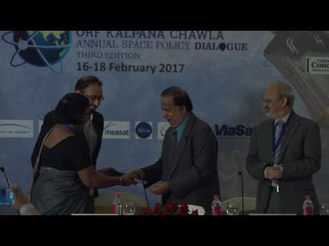 ORF KC2017 | Inaugural Address and Book Release by Dr G Madhavan Nair &  ORF Director Sunjoy Joshi