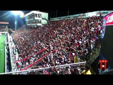 Gloriosa #12 - Vamos Leones - Final 2013 - La 12 - Alajuelense