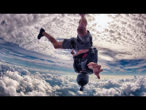 skydiving - freefly