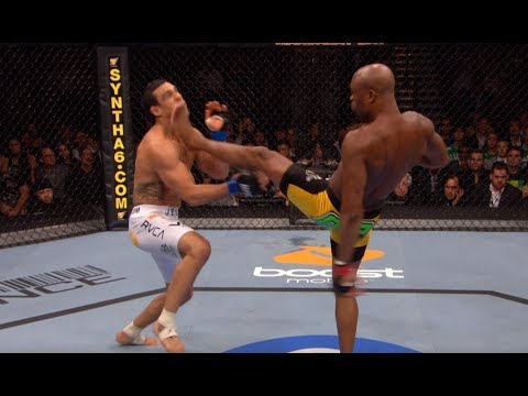 Anderson Silva Top 5 Finishes