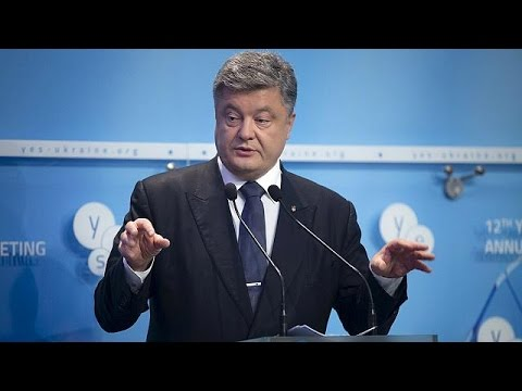 Ποροσένκο: «Να αποσυρθούν οι ρωσικές δυνάμεις από τα ουκρανικά εδάφη»