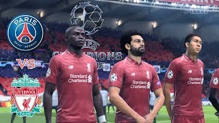 Download Video Paris Saint Germain vs Liverpool - UEFA Champion League 2018/19 | Gameplays PC MP3 3GP MP4