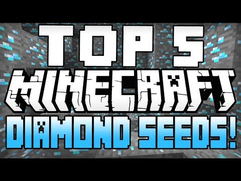Minecraft Seeds - TOP 5 MINECRAFT SEEDS! (Minecraft 1.8) (Best Minecraft Diamond Seeds) - 2015