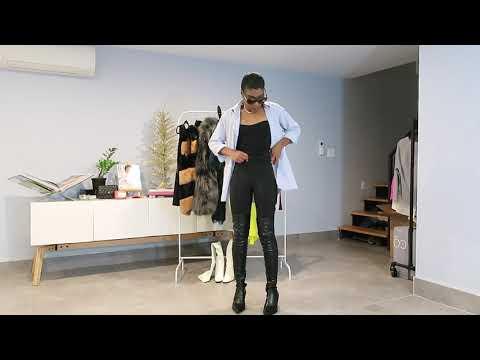 Styling Thigh High Boots from ZARA || Jamilia Kibibi видео