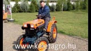 Teljesen felújított Kubota B7000 japán kistraktor eladó a Kelet-Agro-nál / Japanese compact tractor