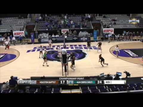 Highlights: Islanders Volleyball Wins Southland Championship
