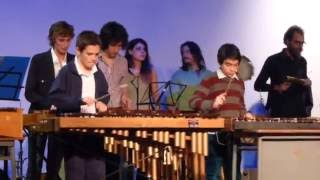 Arauco Yepes y sus alumnos