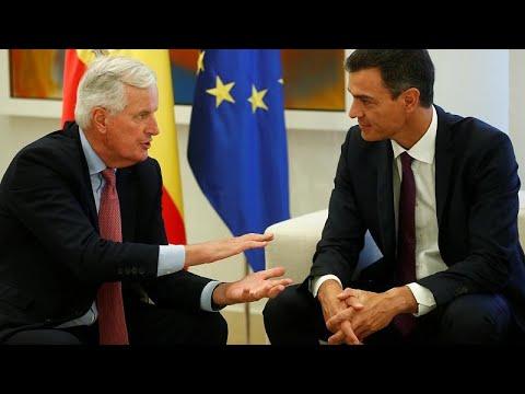 Μπαρνιέ: Αισιόδοξος για το αποτέλεσμα των συνομιλιών για το Βrexit…