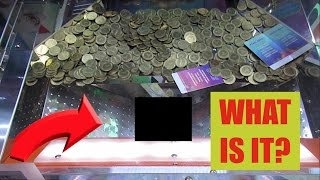 Video THIS WAS LEFT IN A COIN PUSHER..... MP3, 3GP, MP4, WEBM, AVI, FLV Februari 2019